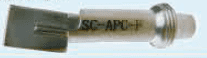 SC APC F inspection tip