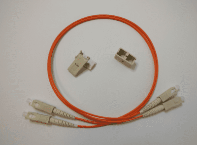 SC - SC, MM OM1, 62,5/125, Duplex patchkabel