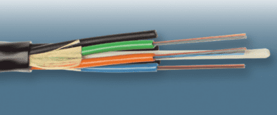 Microduct cable, 144 fiber SM 9/125, 6mm